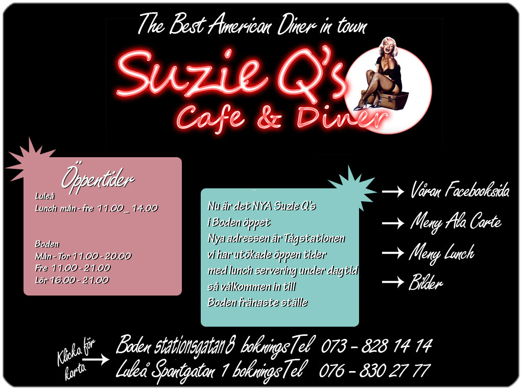 Suzie Qs cafe and diner